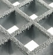 Photo GRP-grating - sanded with corundum